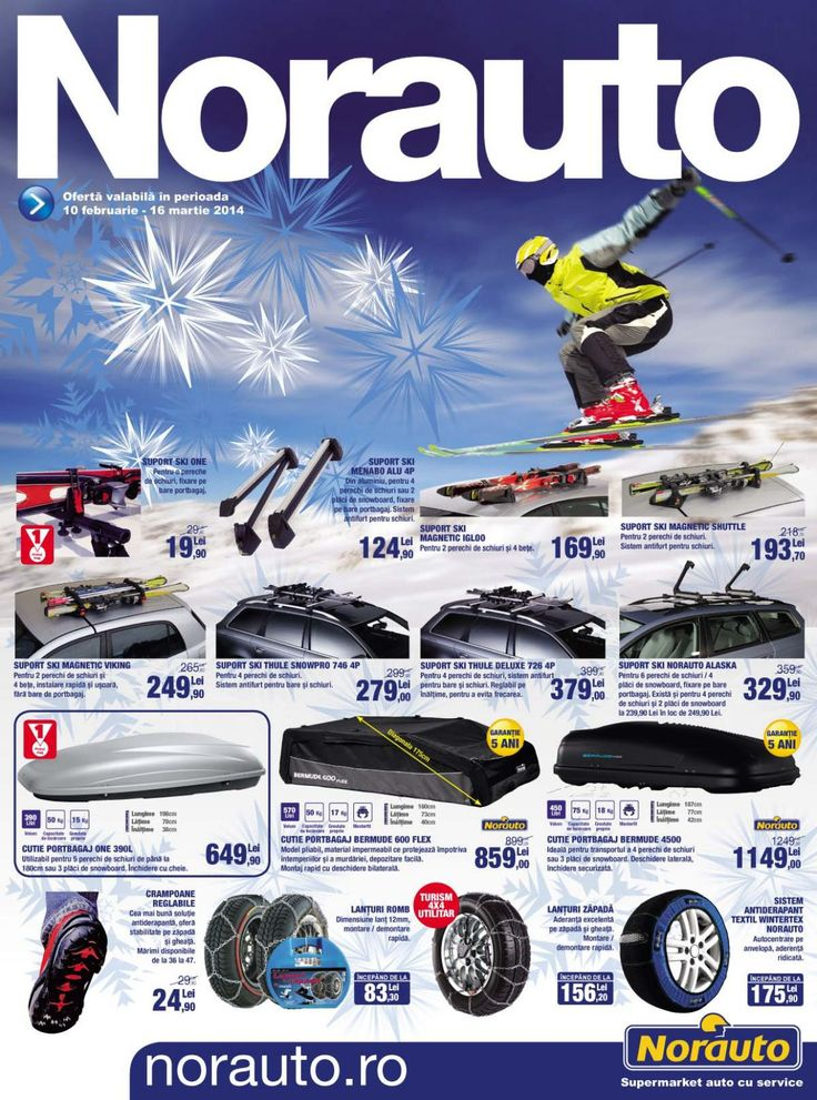 Norauto catalog 10 Februarie - 16 Martie 2014!   #self piss #service #cartires #wheels #caraccessories #Bicycle #scooters #automotiveelectronics