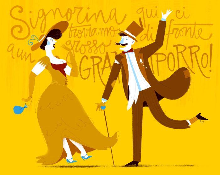 Ci sono molte meravigliose parole italiane che, purtroppo, sono cadute in disuso. Scopriamone alcune grazie a questo divertente racconto!