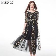 Like and Share if you want this  MUSENDA Plus Size Women See Through Embroidery Mesh Tunic Draped Dress 2017 Summer Sundress Lady Casual Fashion Beach Dresses   Tag a friend who would love this!   FREE Shipping Worldwide   Get it here ---> http://bohogipsy.store/products/musenda-plus-size-women-see-through-embroidery-mesh-tunic-draped-dress-2017-summer-sundress-lady-casual-fashion-beach-dresses/