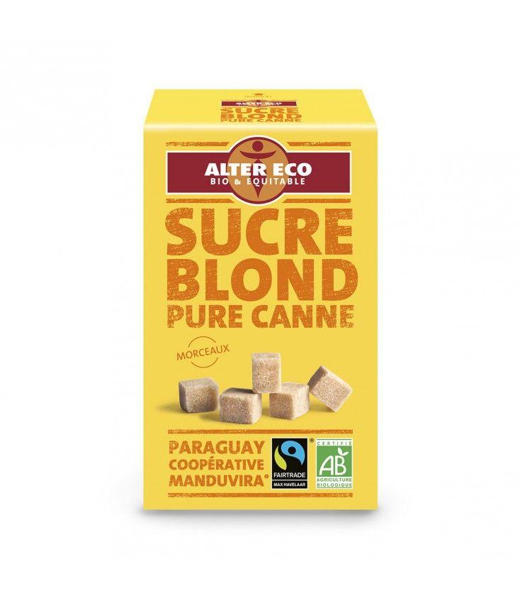 Sucre Blond en morceaux Pure Canne