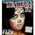 Sugar Skull Face Tattoo Kit