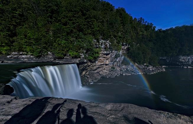 Moonbows!... at night!...only place in US where they occur...Cumberland Falls State Resort Park - Kentucky State Parks