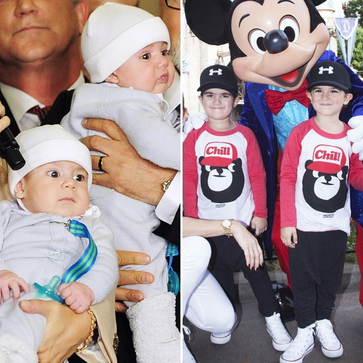 Céline Dion's Twins Eddy and Nelson Angelil are All Grown Up — Plus See More Celebrity Kids Then and Now!