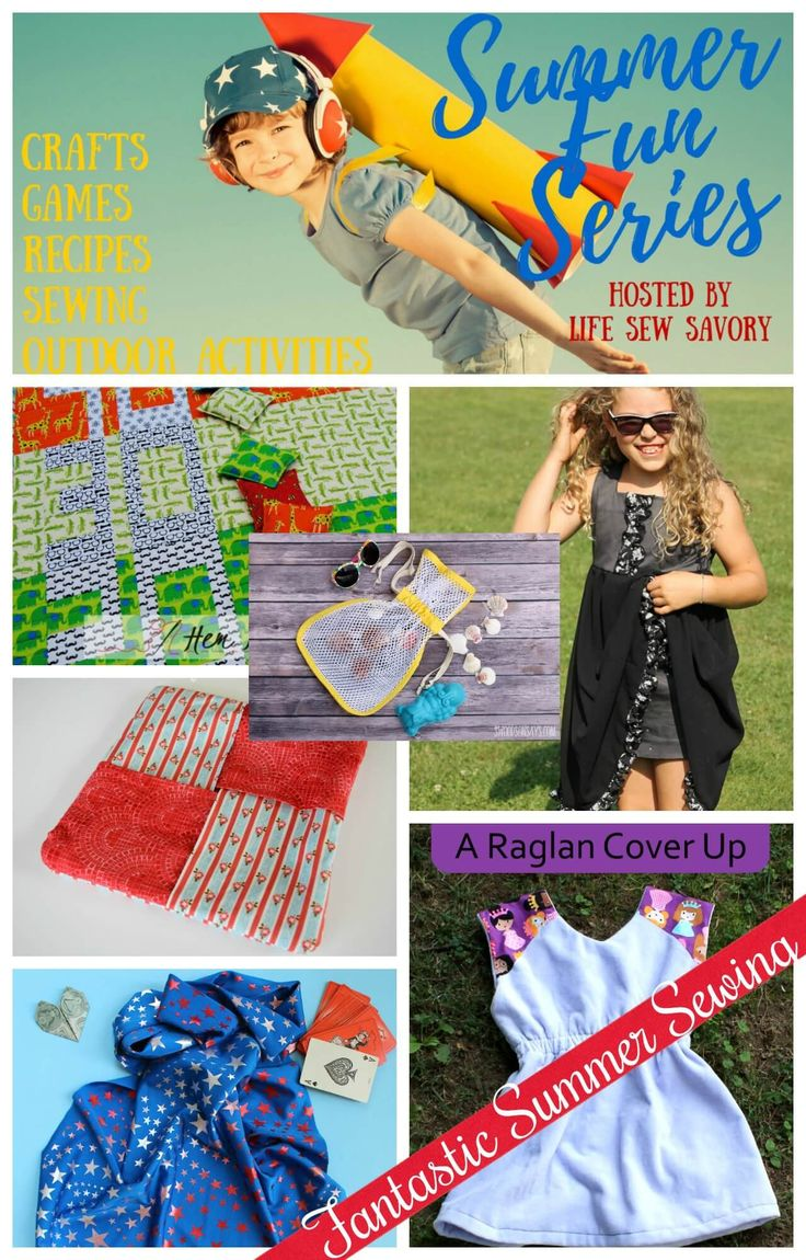 Join us! We're having some summer sewing fun with Life Sew Savory series. I've created the perfect refashioned summer frock for my girl a stylish dress full of high fashion details, sharing with you my best tips! Only on SergerPepper.com