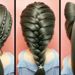 Top 5 tutoriels de coiffures rapides et faciles pour les filles! Des coiffures pour l'école! # 13 - #coiffures #ecole #faciles #filles #rapide