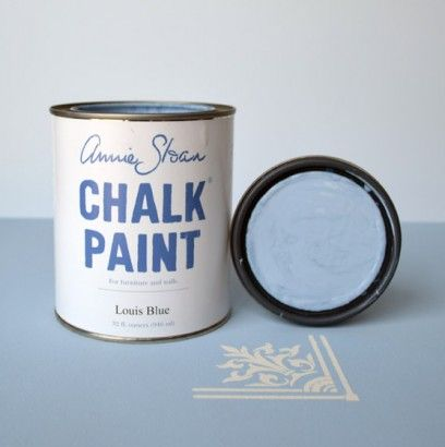 Colored chalk paint... so much fun!!  Louis Blue/ Annie Sloan: Paint 34 95, Blue Chalk Paint, Louis Blue Chalk, Paint Colors, Annie Sloan Chalk Paint, Furniture