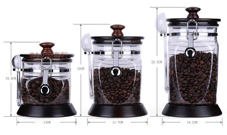 Натуральная ями кофе в зернах запечатанные банки влаги фасоли хранение банки предпочитали кофе кофейных банок консервные банки только кофе банок пожертвовал бобы ложка-Таобао глобальной вокзала