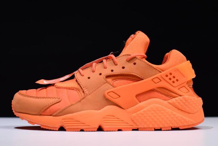 "e37e972c6d0 Nike Air Huarache Run QS ""Chicago"" Orange Blaze Midnight-White AJ5578-800"