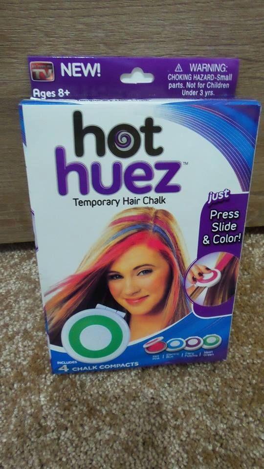 het huez smývatelné barvy na vlasy