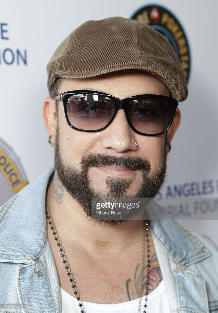 Singer A.J. McClean attends Los Angeles Police Memorial Foundation's Celebrity Poker Tournament at Saban Theatre on April 27, 2013 in Beverly Hills, California.
