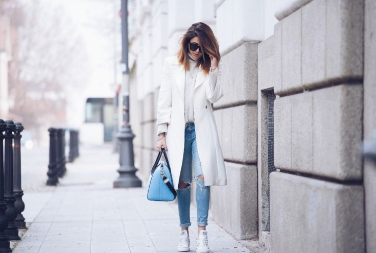 WHITE & LIGHT BLUE OUTFIT INVERNO 2014