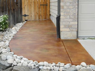Acid Stained Concrete (Staining) Denver Boulder Golden CO