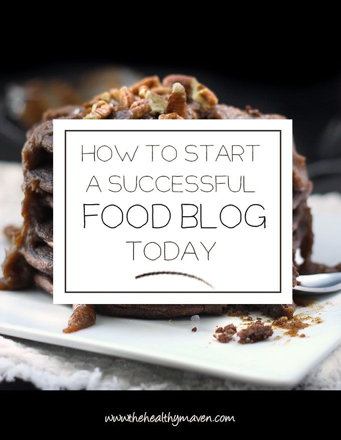 A step-by-step tutorial on how to start a successful food blog today.