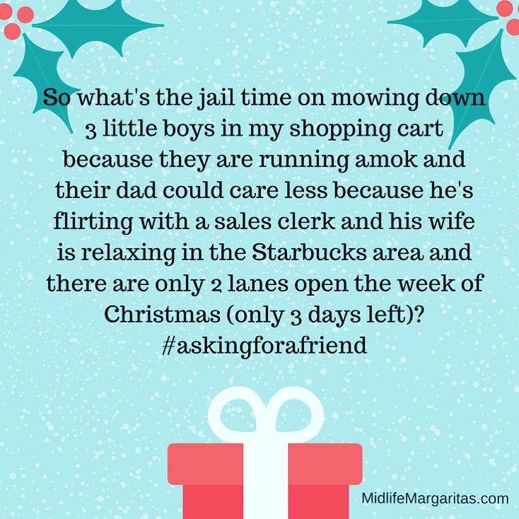 Merry Christmas and keep an eye on your damn kids! Lol