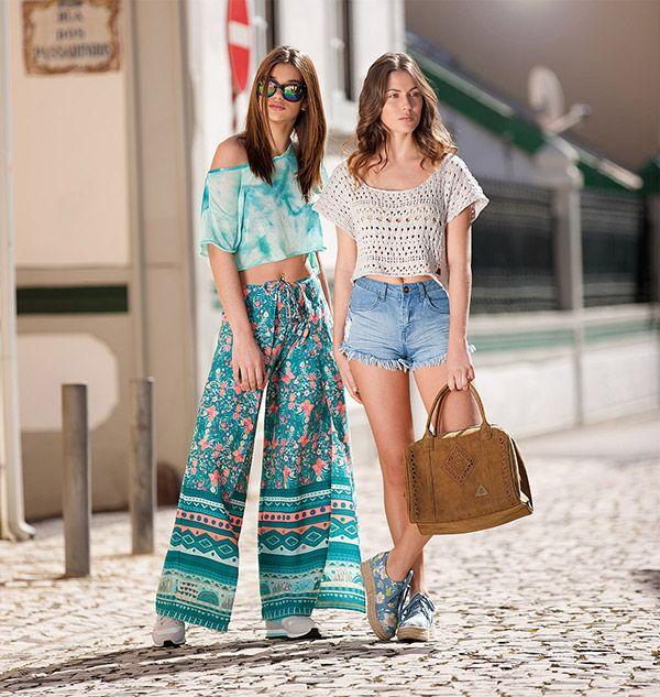 Nueva colección en moda casual y ropa deportiva para Primavera-Verano 2016