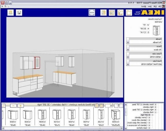 3d kitchen cabinet design software free download ...