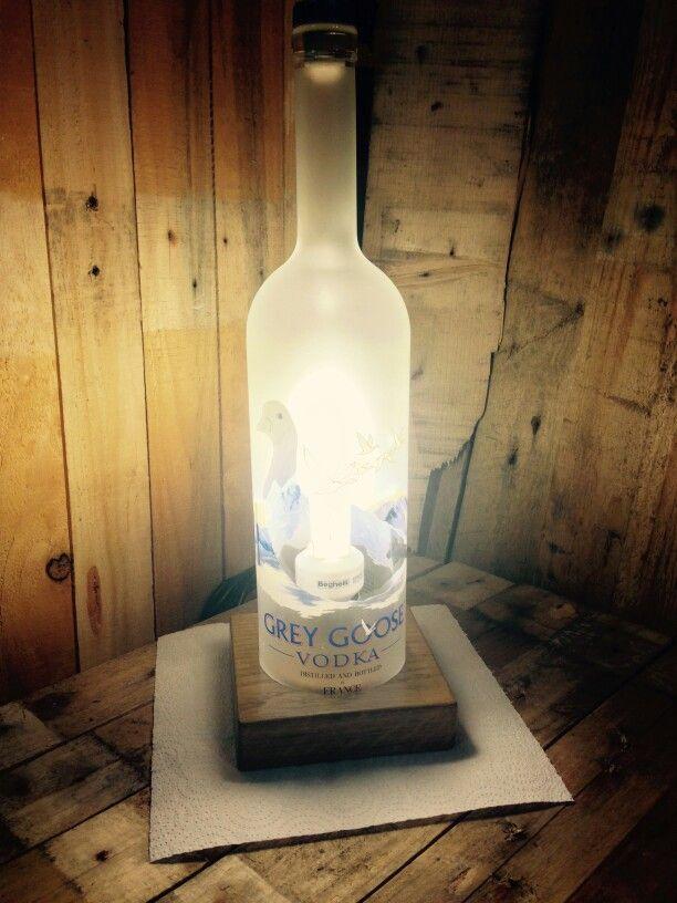 Grey Goose Magnum TABLE LAMP