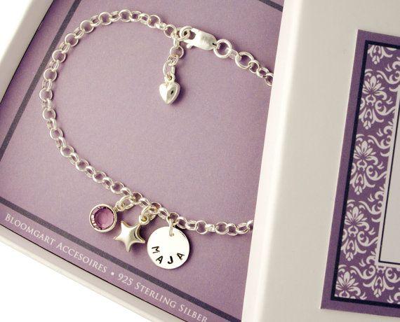 925 Silber Taufe Armband Baby, Taufschmuck Gravur                                                                                                                                                                                 Mehr