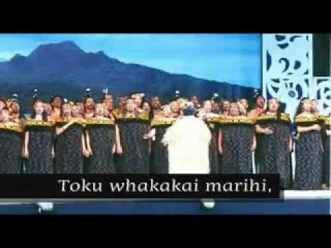 Maori Songs HE KAKANO AHAU with Lyrics   YouTube 1