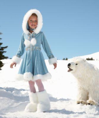 enchanting eskimo girls costume