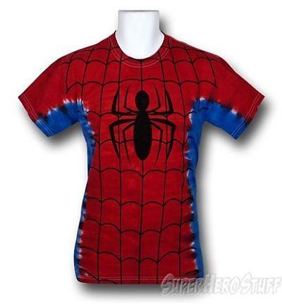 Spiderman Tie Dye T-Shirt