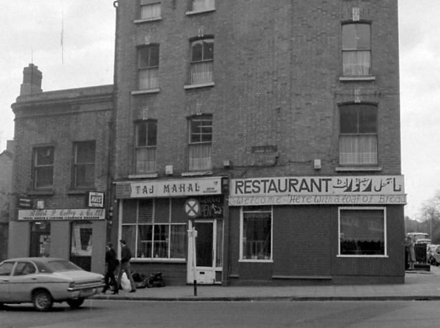 1940s restaurant | The Taj Mahal (Lincoln Place side) in 1979. Credit – Dublin City ...