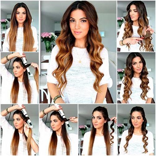 Hacer ondas en el cabello paso a paso - http://www.peinando.com/hacer-ondas-en-el-cabello-paso-a-paso/