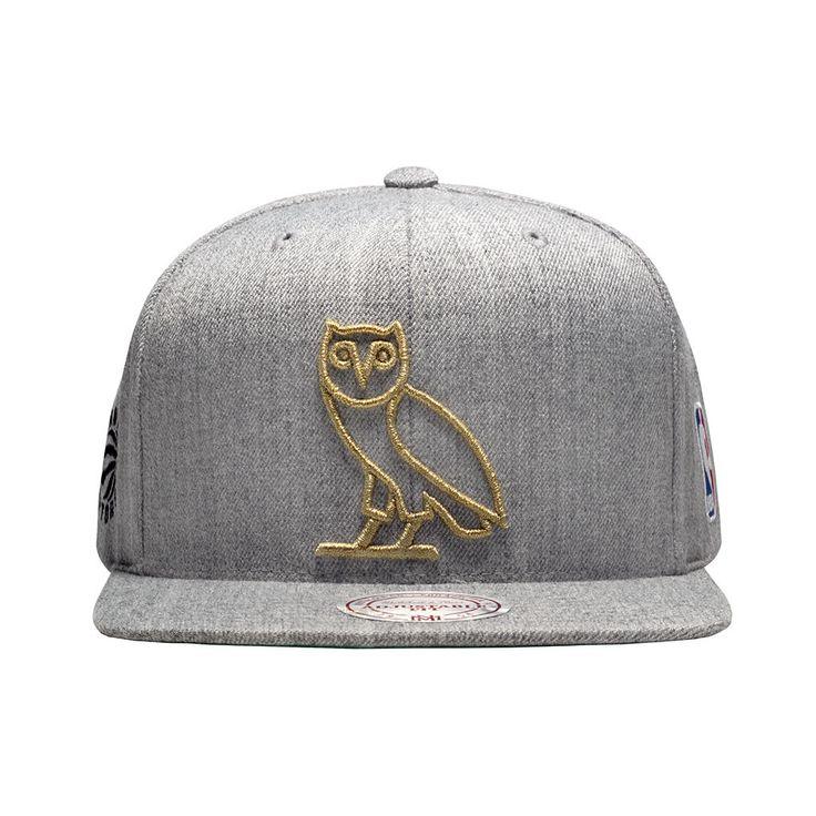 Ovo Owl Hat: Toronto Raptors OVO Mitchell & Ness Men's Owl / Alternate