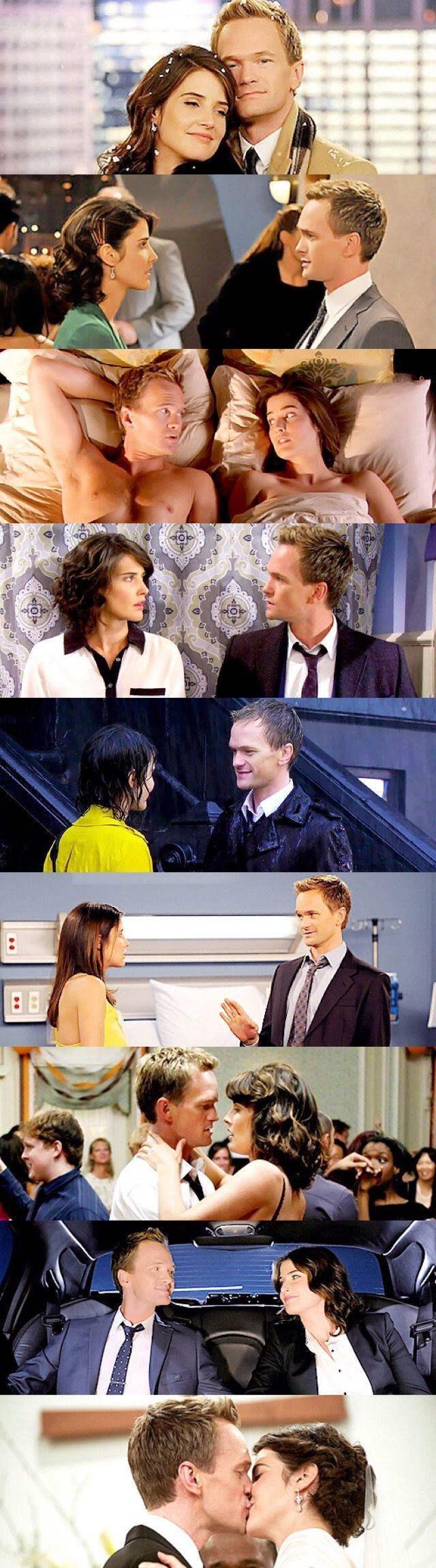 Swarkles <3 Robin Scherbatsky and Barney Stinson from How I Met Your Mother