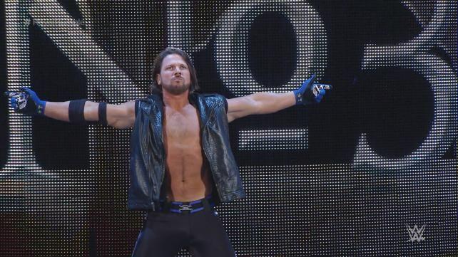 """AJ Styles Debuts in """"Royal Rumble"""" Match"""