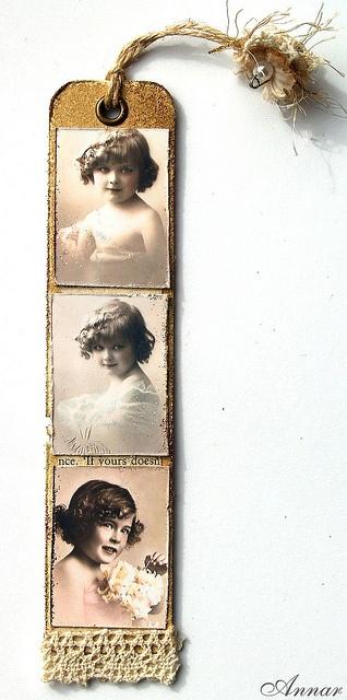 Vintage bookmark by Annar33, via Flickr