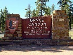 Het park dankt zijn naam aan de Mormoonse pionier Ebenezer Bryce, die van 1875 tot 1880 aan de voet van Bryce Canyon woonde. In 1924 werd het gebied uitgeroepen tot nationaal park. In vroeger tijden was de Bryce Canyon een nachtmerrie voor veedrijvers; het was ondoenlijk in dit gebied een overzicht over de kudde te behouden.