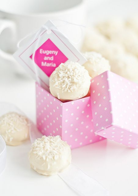 Easy pink snowball recipe