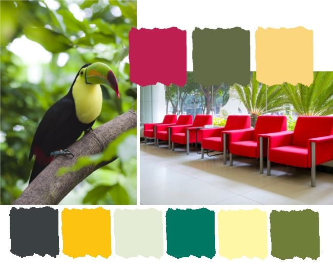 2013 Colour Trends for HOME – Revive  Awaken your senses with tropical bright colours that blend with earthy greens. Inspiration for this trend is from the depth of the rainforest where nature fights back.