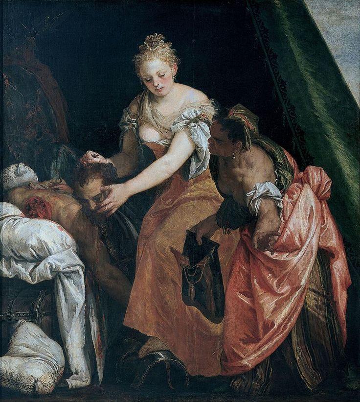 Paolo Veronese-Giuditta con la testa di Oloferne,Palazzo Rosso,Genova