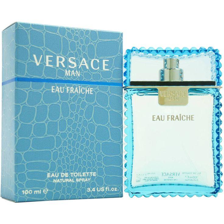 Cologne Spray Versace Man Eau Fraiche Gianni Men Perfume Fragrance 3.4 Oz New  #Versace