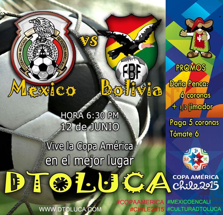 Copa América 2015 Mexico Bolivia