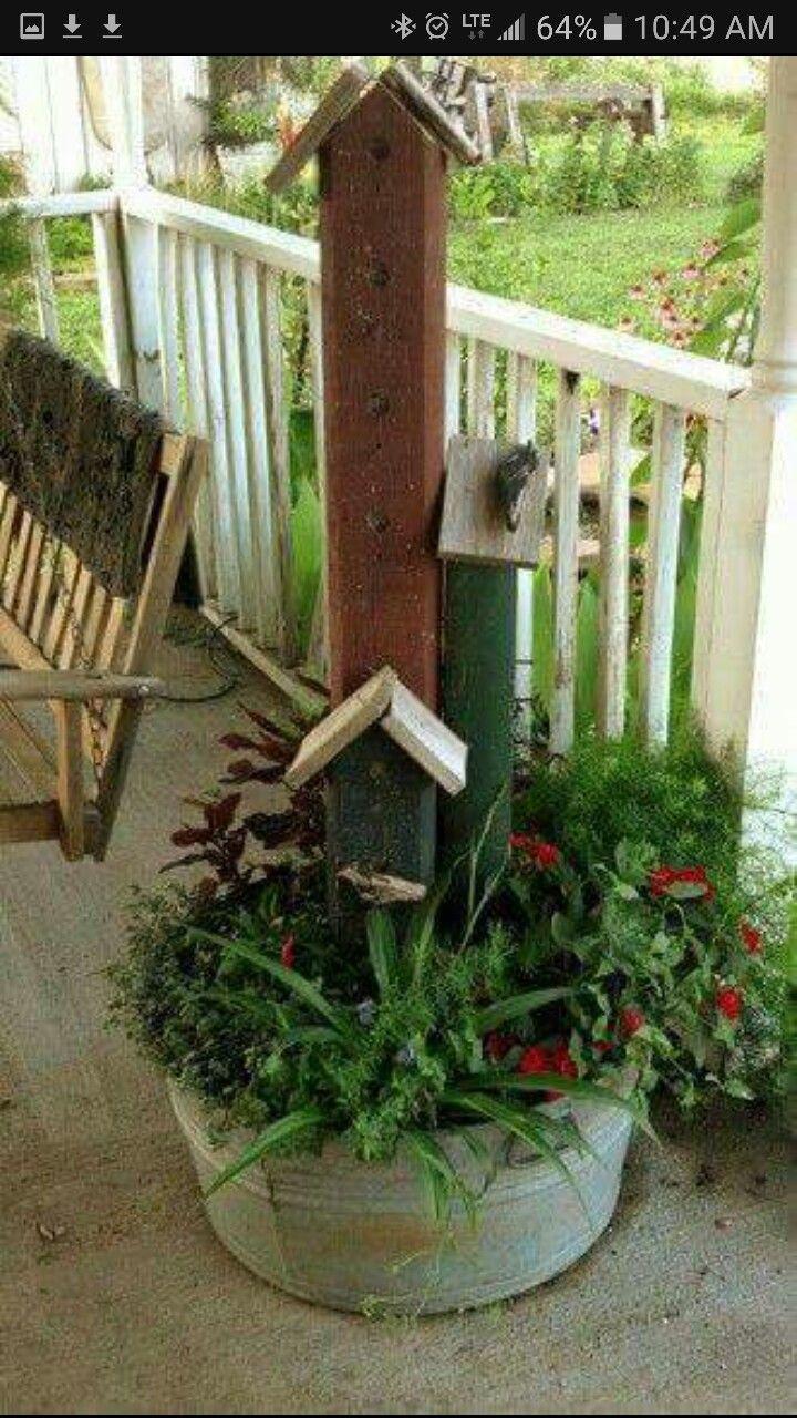 53 besten Repurposed junk gardens Bilder auf Pinterest ...