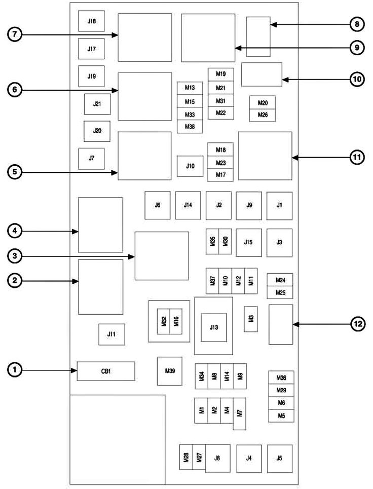 f65dad757704258fddc82721f010e9f2 jeep cars jeep jeep 2006 jeep commander fuse box diagram jpeg carimagescolay Jeep Liberty Fuse Box Location at virtualis.co