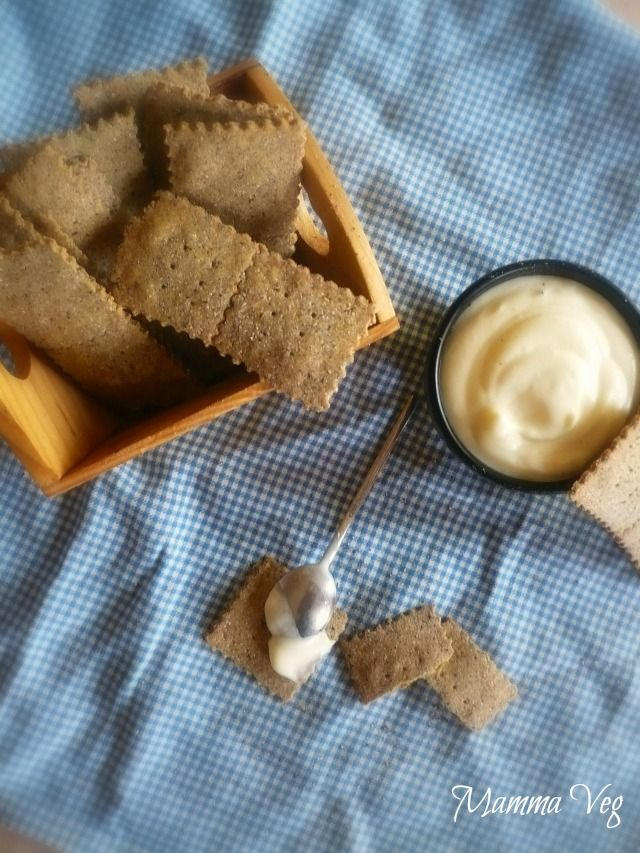 Mamma Veg: Crackers sottili senza glutine