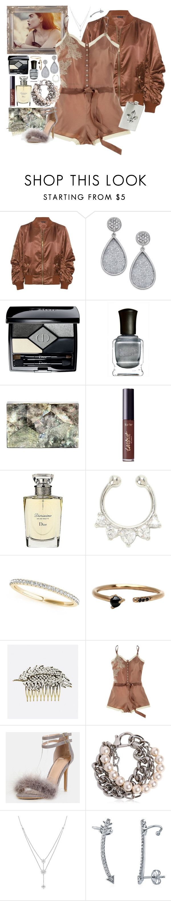 """Do What U Want - Lady Gaga"" by leo8august ❤ liked on Polyvore featuring Christian Dior, Deborah Lippmann, Nathalie Trad, tarte, Allurez, LUMO, Avenue, Elle Macpherson Intimates, Moschino and Bloomingdale's"