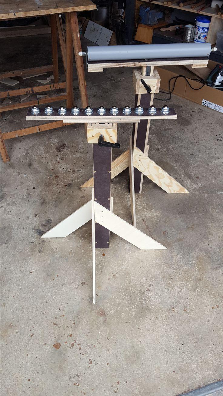 Zwei Rollenböcke Bauanleitung zum selber bauen | Heimwerker-Forum