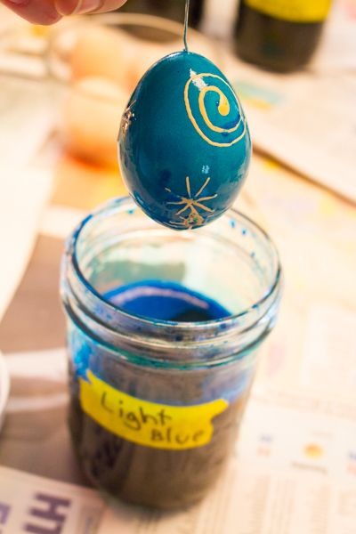Pysanky eggs - we made them, and so can YOU!