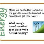 These energy transformation cards are great to use for reviewing or reteaching types of energy and energy transformations. There are 24 activity ca...