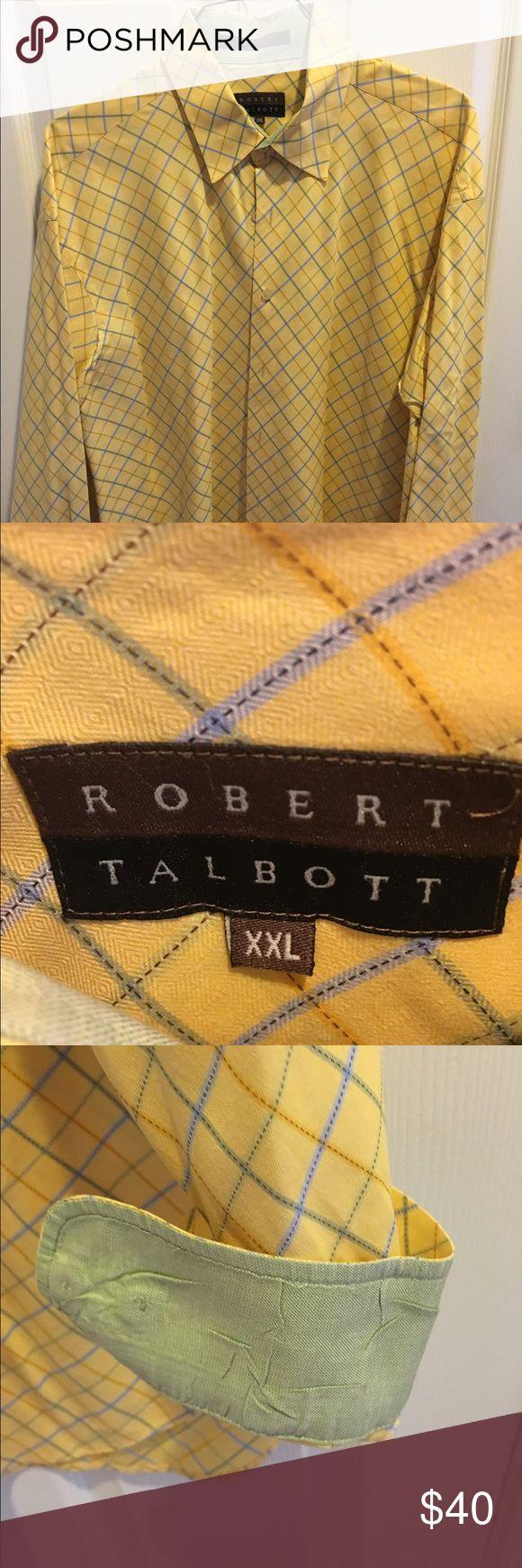 Robert Talbott men's shirt Robert Talbott shirt. Great for hitting the town. Wore it 3 times. Perfect condition. XXL Robert Talbott Shirts Casual Button Down Shirts