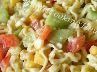 Magic Cooking Time | Blog o gotowaniu: Sałatka makaronowa