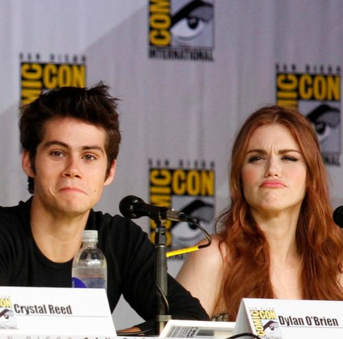 Dylan O'Brien & Holland Roden are such cuties
