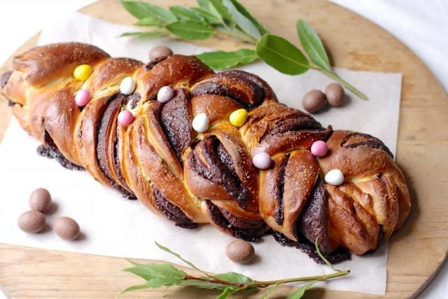 This braided sweet bread will be the talk of the table on Easter morning. Serve it fresh from the oven for breakfast or morning tea, and just hope there'll be some left over for second helpings!