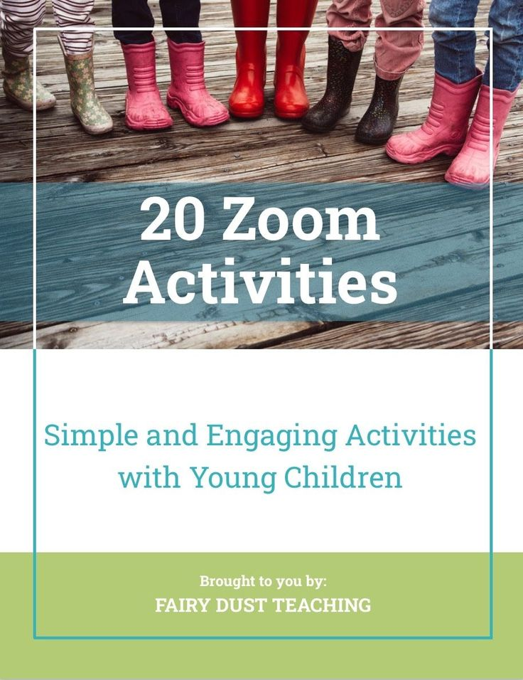 20 Simple And Engaging Activities To Do On A Zoom Meeting With Young Children Imaginaryplay Daycaret Online Preschool Teaching Preschool Meeting Activities Things to do with preschoolers on zoom