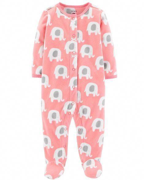 d3fa18ab1d35 Elephant Snap-Up Fleece Sleep   Play from Carters.com. Shop clothing ...